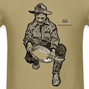 California Gold Miner - Men's T-Shirt