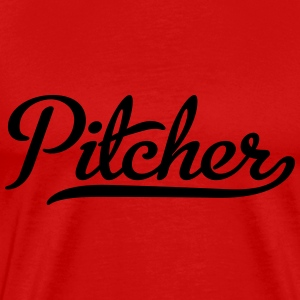Pitcher T-Shirts - Men's Premium T-Shirt