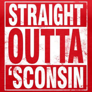 STRAIGHT OUTTA 'SCONSIN Tanks - Women's Premium Tank Top