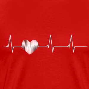 Heartbeat Shirt - Men's Premium T-Shirt