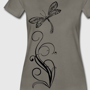 dragonfly again only Women's T-Shirts - Women's Premium T-Shirt
