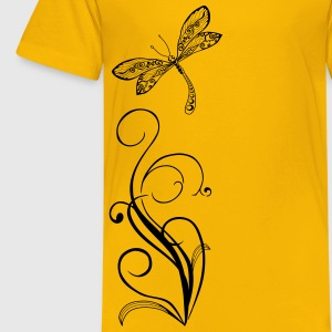 dragonfly again only Kids' Shirts - Kids' Premium T-Shirt