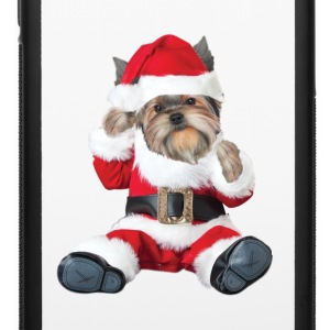Yorkie Baby Santa Phone & Tablet Cases - iPhone 6/6s Rubber Case