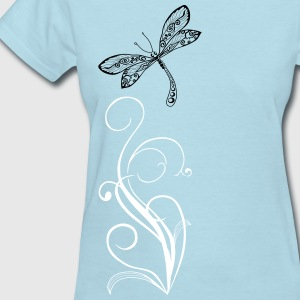 dragonfly again only Women's T-Shirts - Women's T-Shirt