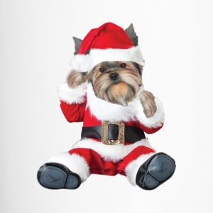 Yorkie Baby Santa Mugs & Drinkware - Travel Mug