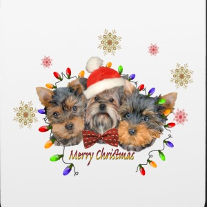 Yorkie Merry Christmas Phone & Tablet Cases - iPhone 6/6s Rubber Case