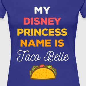 My Disney princess name Funny Unique T-shirt Women's T-Shirts - Women's Premium T-Shirt
