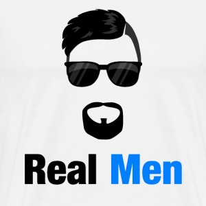 Real Men - Men's Premium T-Shirt