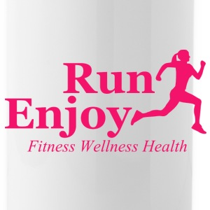 Run and enjoy Sportswear - Water Bottle