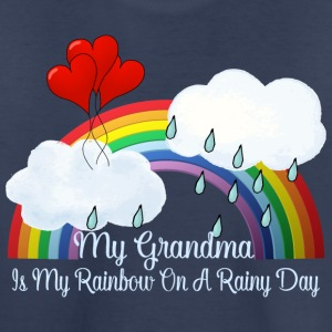 Grandma My Rainbow On Rainy Day - Kids' Premium T-Shirt