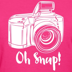 Camera Oh Snap Women's T-Shirts - Women's T-Shirt