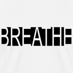 Mens Breathe Yoga T