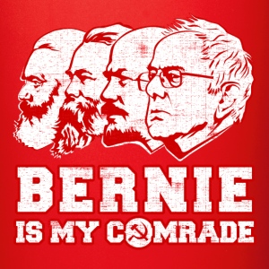 Bernie Sanders is my comrade Mugs & Drinkware - Full Color Mug