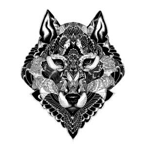 1WP WOLF ART