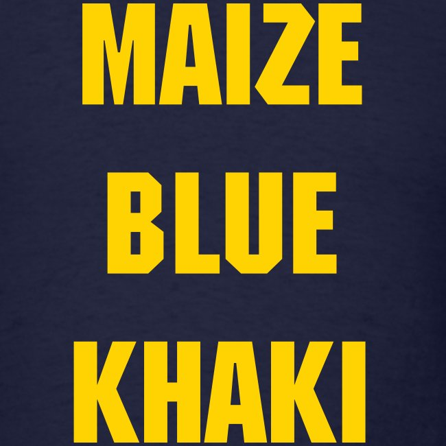 State of Maize and Blue