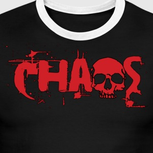Chaos Logo Shirt - Men's Ringer T-Shirt