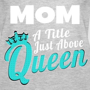 Mom is Queen - Women's Premium Tank Top