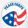 Peace Corps logo tee shirt - Men's T-Shirt