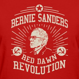 Bernie Red Dawn Revolution Women's T-Shirts - Women's T-Shirt