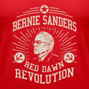 Bernie Red Dawn Revolution Tanks - Women's Premium Tank Top