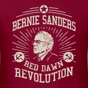 Bernie Red Dawn Revolution T-Shirts - Men's T-Shirt