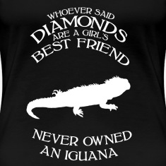iguana female Women's T-Shirts