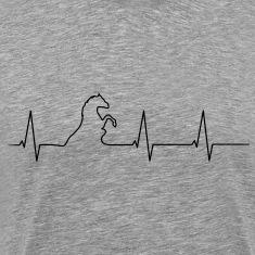 Heartbeat horse Shirt