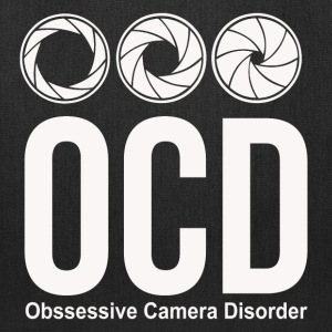 ocd photographer funny Bags & backpacks - Tote Bag