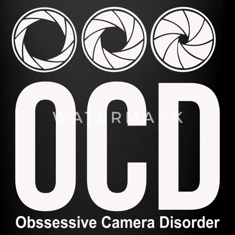 ocd photographer funny Mugs & Drinkware - Full Color Mug