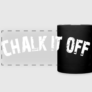 Chalk It Off - Arc Text - Full Color Panoramic Mug