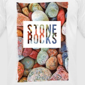 stone rocks T-Shirts - Men's T-Shirt by American Apparel