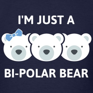Bi-Polar Bear - Men's T-Shirt