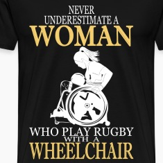 WHEELCHAIR WOMAN LOVE RUGBY