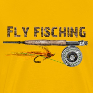 fly fishing T-Shirts - Men's Premium T-Shirt