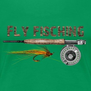 fly fishing Women's T-Shirts - Women's Premium T-Shirt