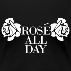Rose All Day Women's T-Shirts