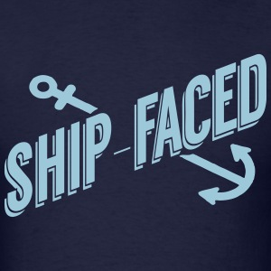 Ship-Faced T-Shirts - Men's T-Shirt