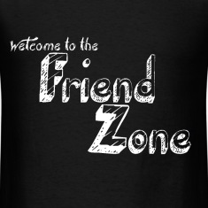 FriendZone T-Shirt White on Back