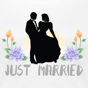 Just Married - Women's Premium T-Shirt