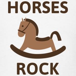Horses Rock - Men's T-Shirt