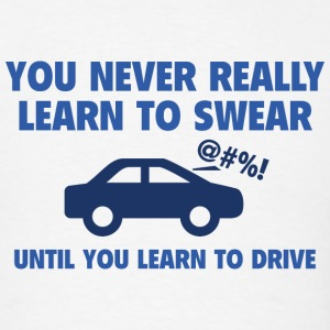Learn To Swear - Men's T-Shirt