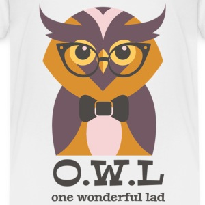 Wonderful Lad Owel - Kids' Premium T-Shirt