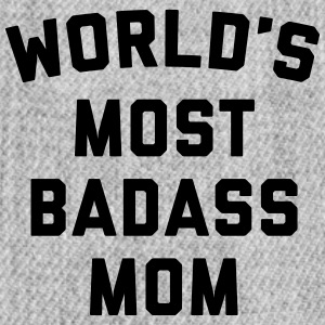 Badass Mom Funny Quote Sportswear - Snap-back Baseball Cap