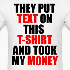 text t shirt.png T-Shirts