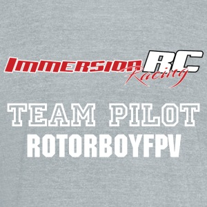 ImmersionRC Team Pilot TShirt - Unisex Tri-Blend T-Shirt by American Apparel