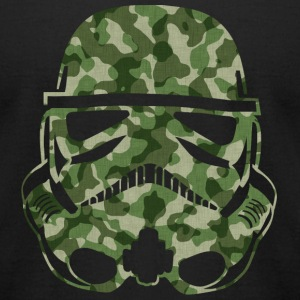 Camo Trooper SHIRT MAN - Men's T-Shirt by American Apparel