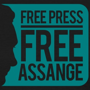 Free Press Free Assange T-Shirts - Women's T-Shirt