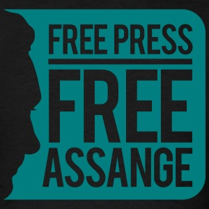 Free Press Free Assange T-Shirts - Men's T-Shirt