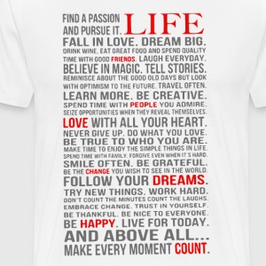 All about life - Men's Premium T-Shirt