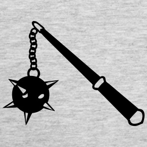medieval weapon scourge ball spades 1 Tanks - Women's Premium Tank Top